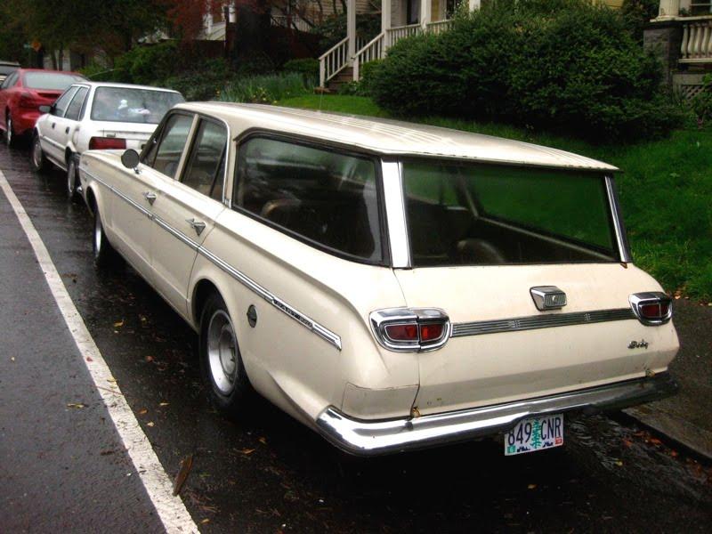 1966 Dodge Dart 270 Wagon. - 2