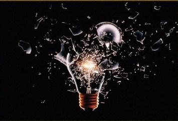 light bulb breaking